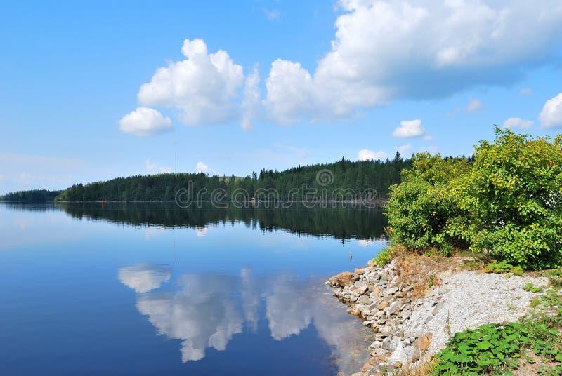 Finlandia. Reserva Kolovesi imagens de stock