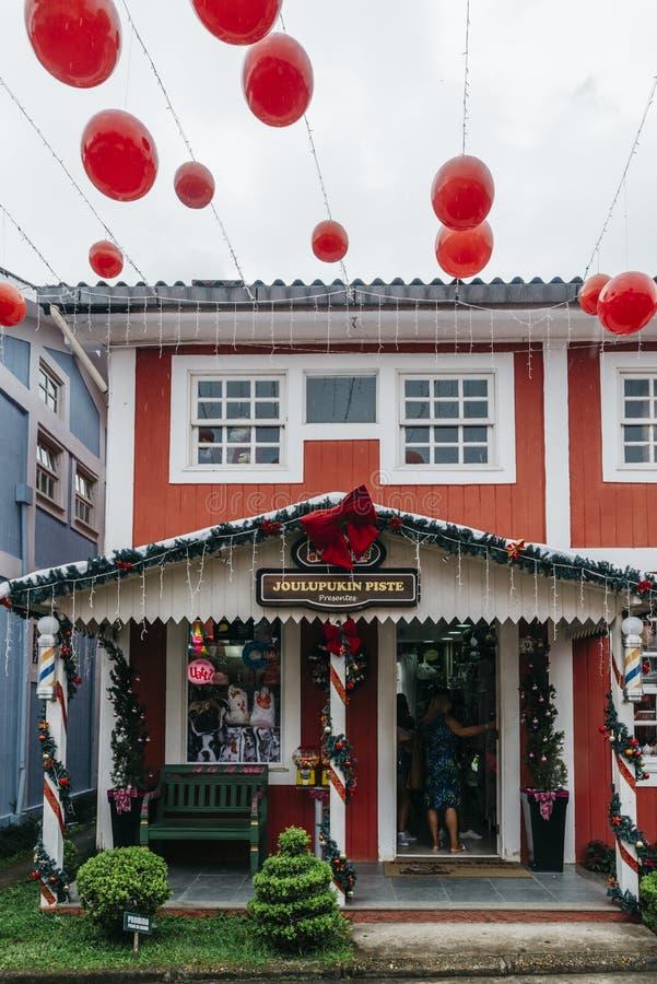 Finlandssvensk kultur i Penedo, Rio de Janeiro, Brasilien fotografering för bildbyråer