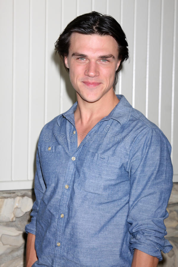 Finn Wittrock. LOS ANGELES - SEP 25: Finn Wittrock arrives at the 'All My Children' 2010 Fan Club Luncheon at Sportsman's Lodge on September 25, 2010 in Studio royalty free stock photo