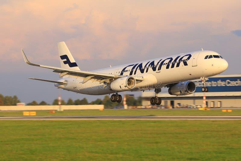 Finnair foto de archivo