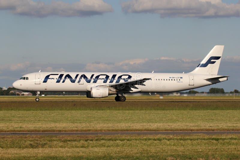 Finnair Airbus A321-200 imagens de stock