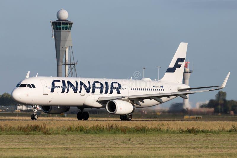 Finnair Airbus A321-200 fotos de stock