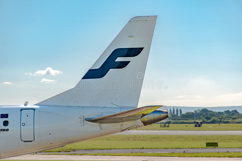 Finnair Embraer ERJ-190 fotos de archivo