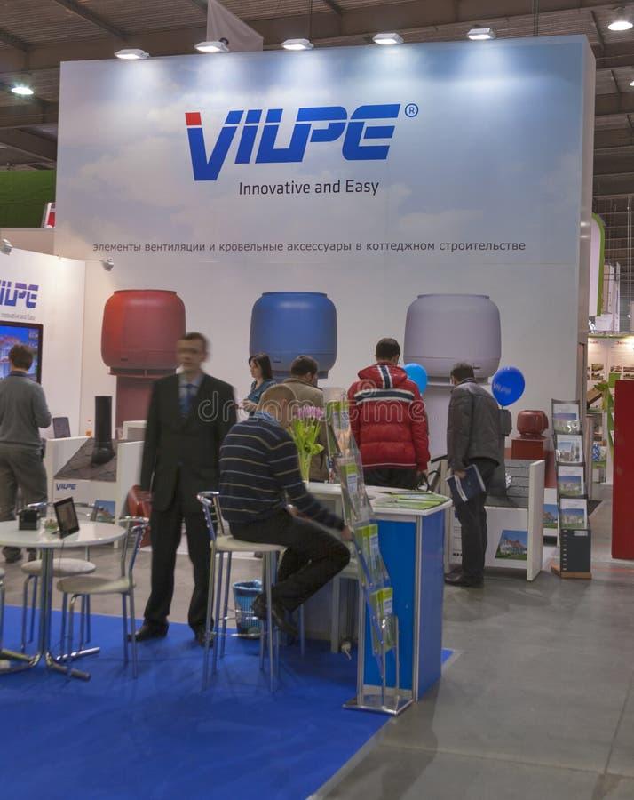Finnischer Stand VILPE Firmen lizenzfreie stockfotos