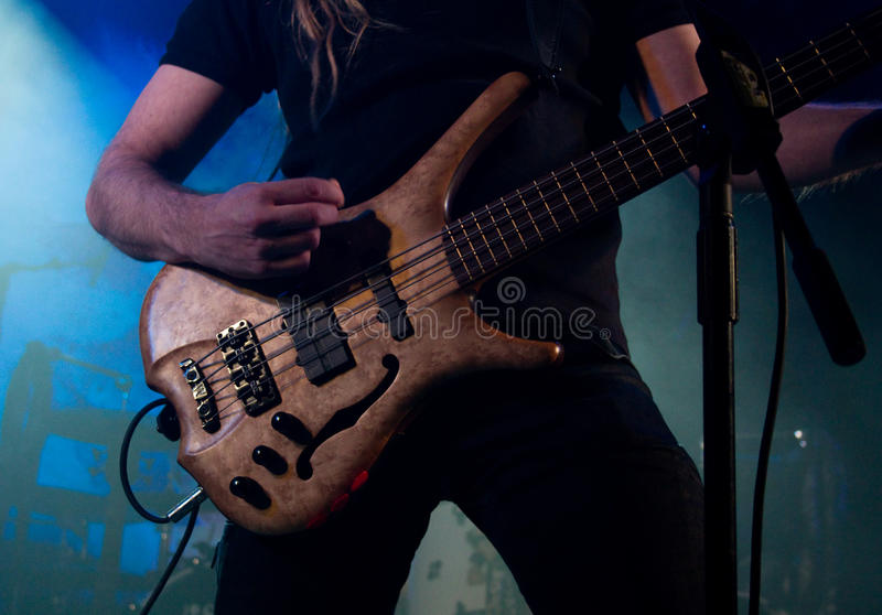 Finnish heavy metal band Tarot live on stage stock photos