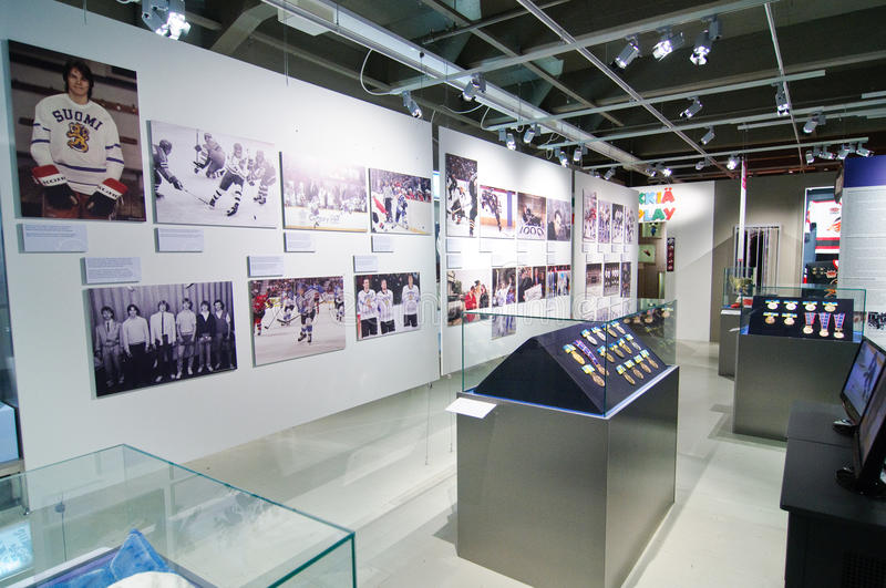 Download The Finnish Hockey Hall Of Fame Editorial Stock Photo - Image of olympic, tampere: 23102503