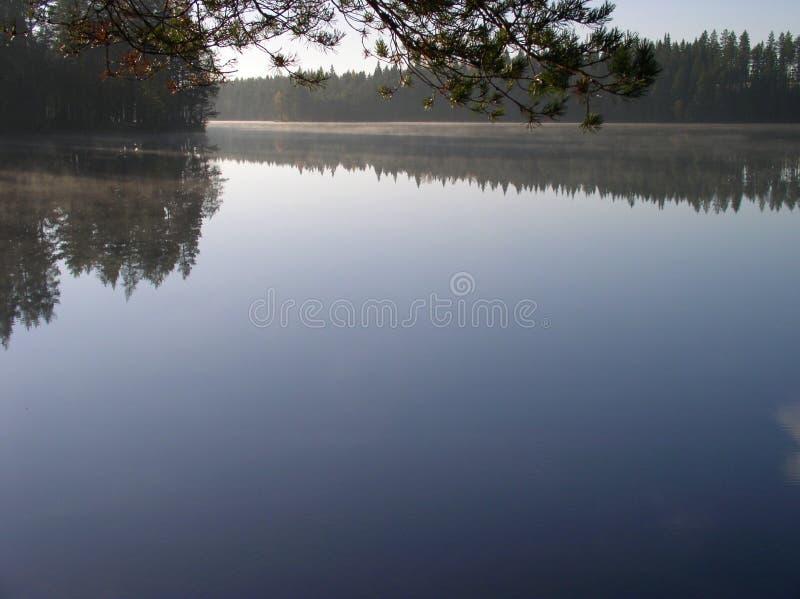 Finnish lake royalty free stock photos