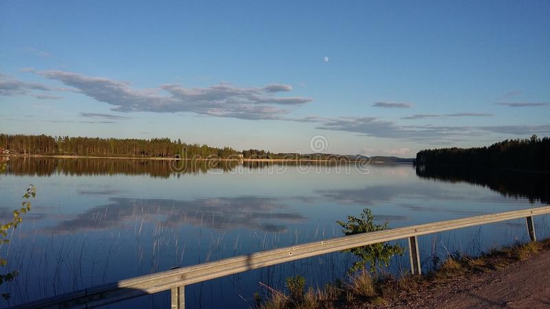 Finnish lakeview royalty free stock photography