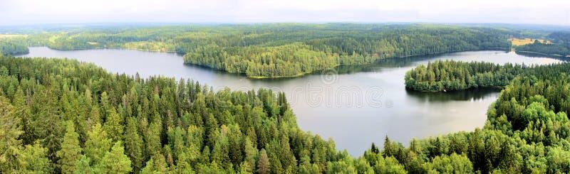 Download Finnish panorama stock photo. Image of hameenlinna, park - 26594046