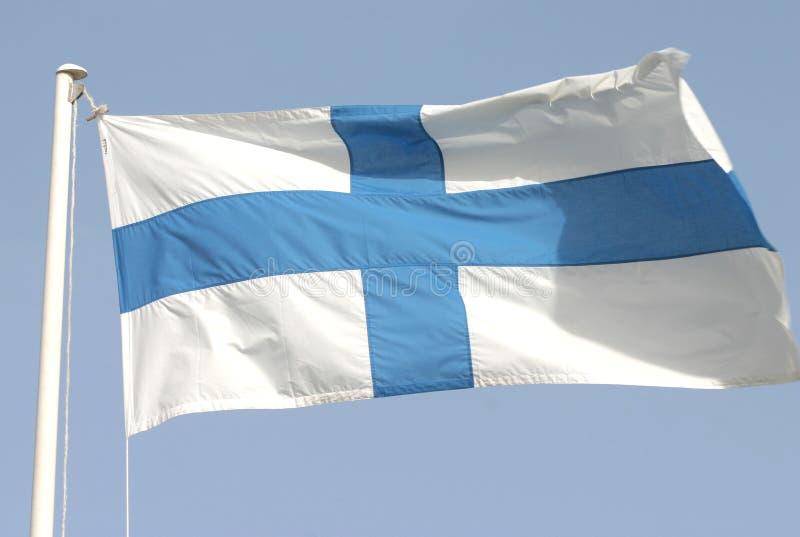 Download Finnlands Markierungsfahne stockfoto. Bild von helsinki - 33106