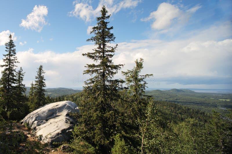 Fins landschap royalty-vrije stock afbeelding