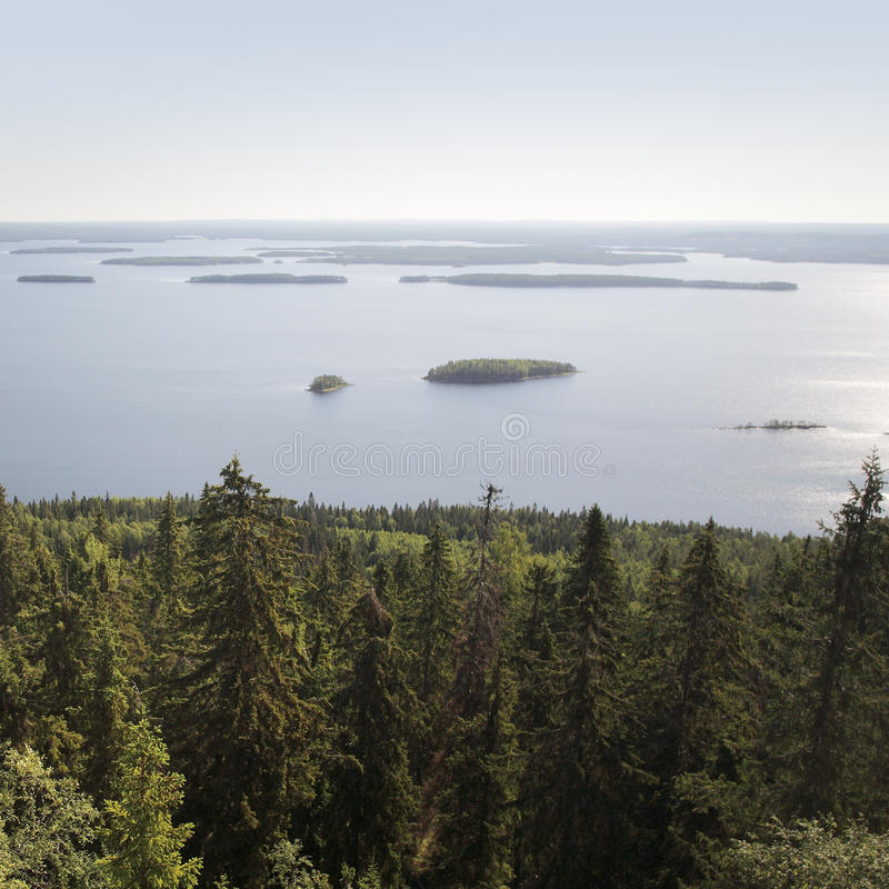 Fins landschap royalty-vrije stock fotografie