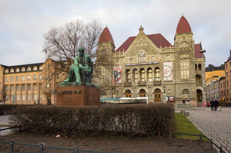 Fins Nationaal theater royalty-vrije stock afbeeldingen