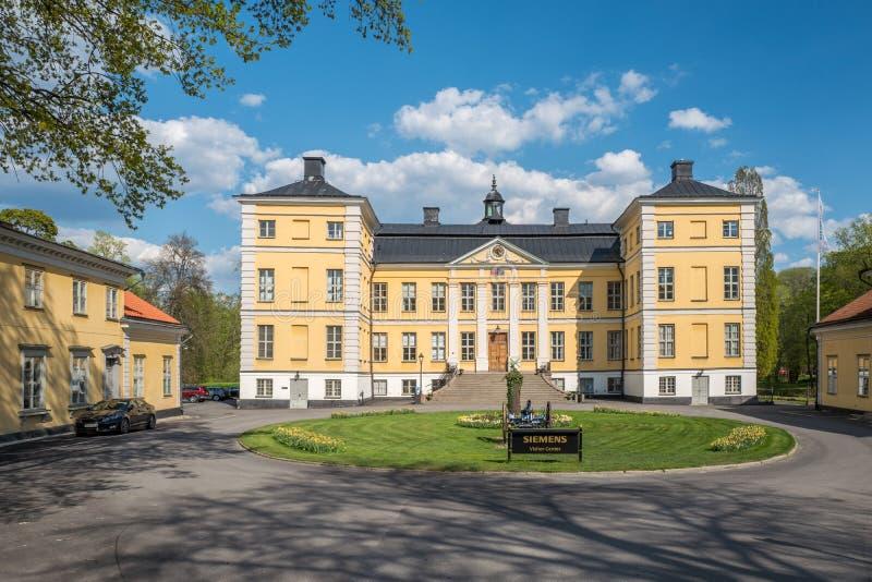 Finspång-Schloss, Schweden lizenzfreies stockfoto