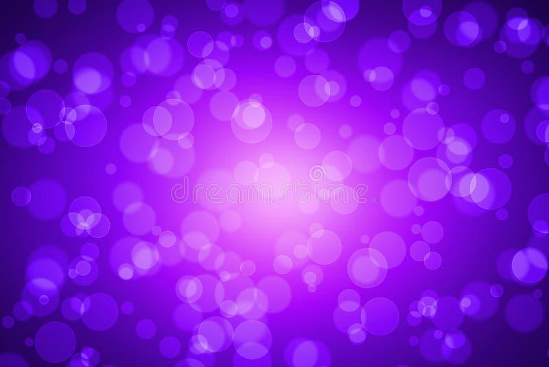 Fiołkowa kolor plama Bokeh dla tła zdjęcie stock