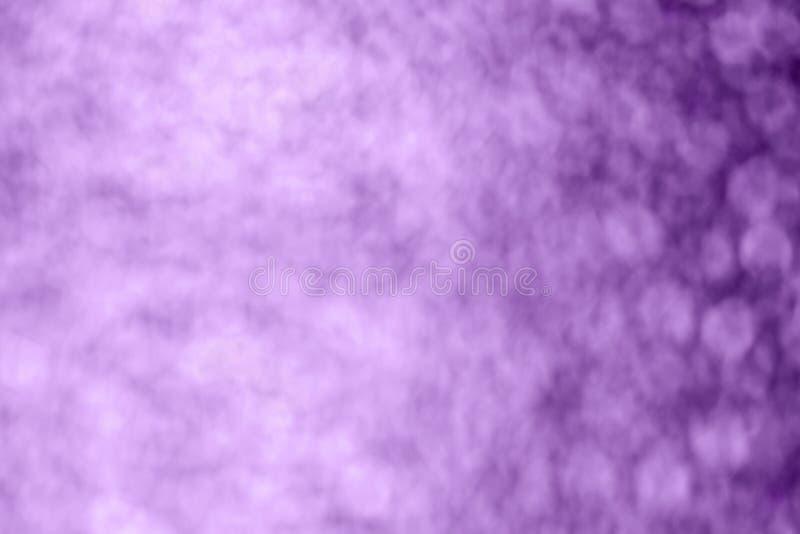Fiołkowy bokeh tło, tonujący zdjęcia stock