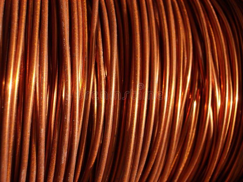 Fio de cobre 2 imagem de stock