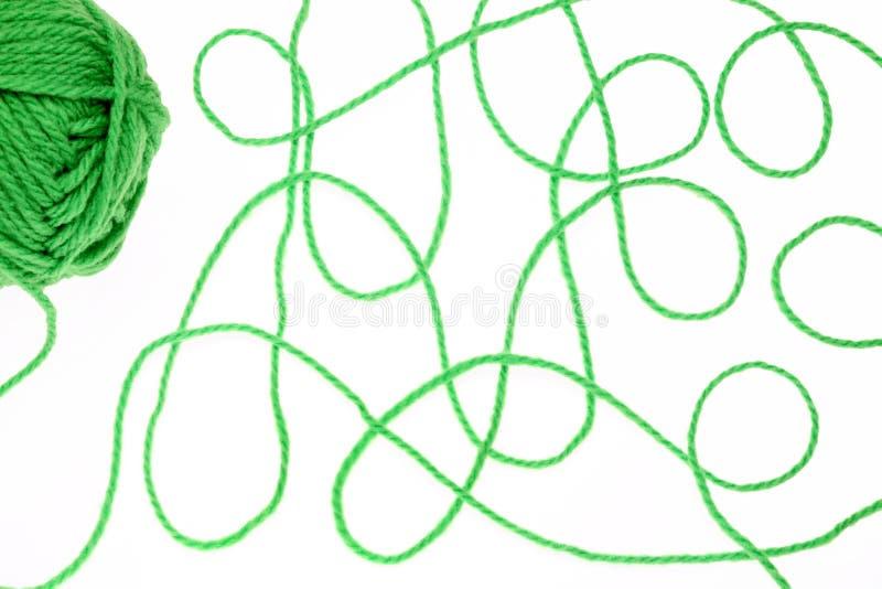 Download Fio de lã foto de stock. Imagem de passatempo, objeto - 16861674