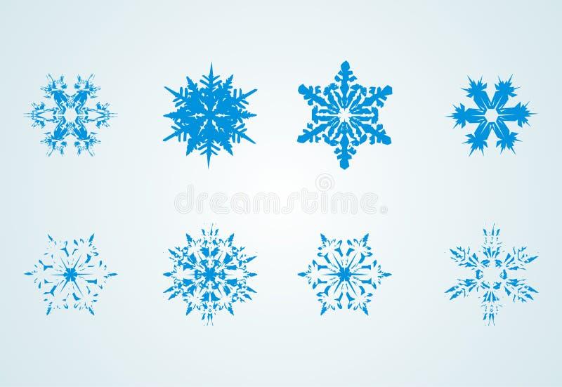 Fiocchi della neve illustrazione di stock