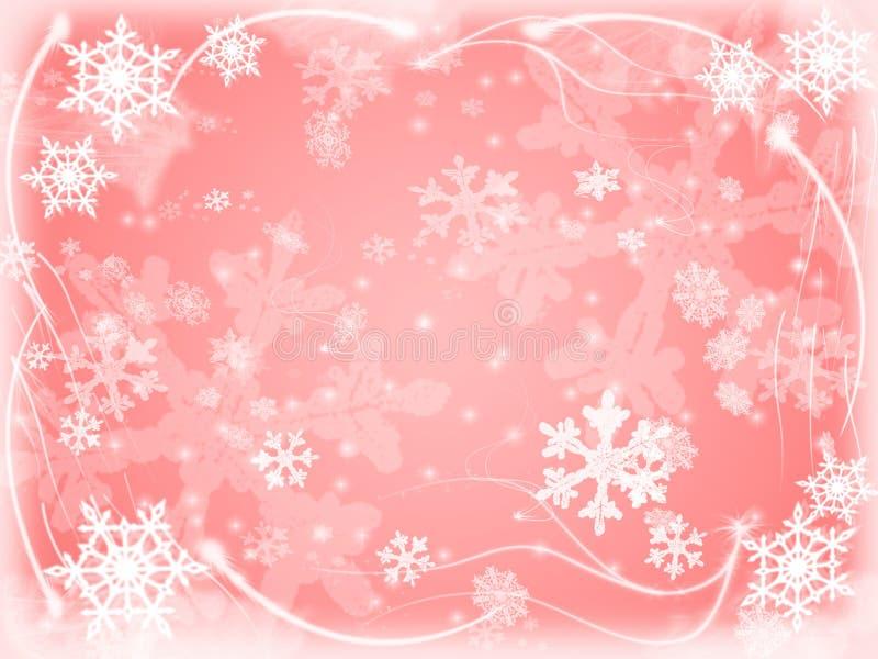Fiocchi di neve 8 royalty illustrazione gratis