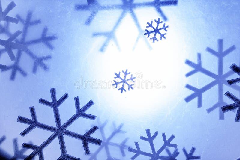Fiocchi di neve di natale royalty illustrazione gratis