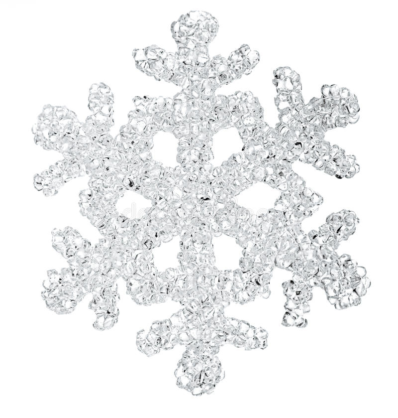 Fiocco della neve immagini stock