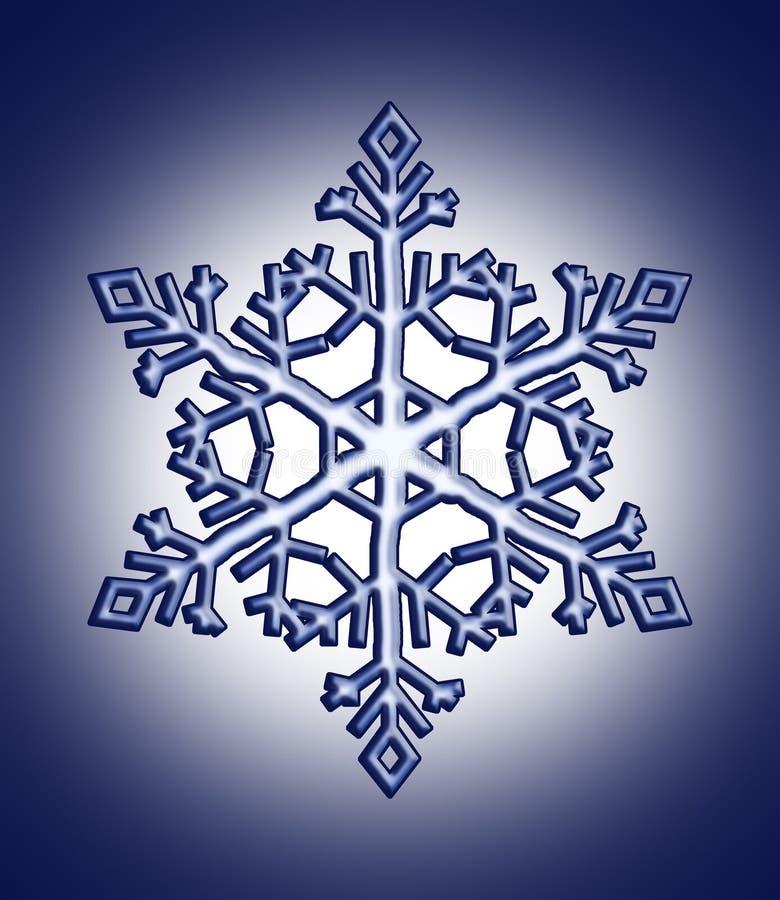 Fiocco della neve illustrazione vettoriale