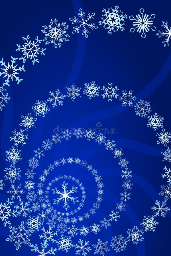 Fiocco di neve illustrazione di stock