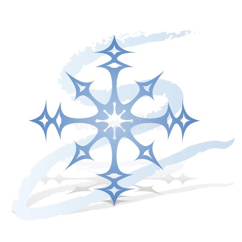 Fiocco di neve royalty illustrazione gratis