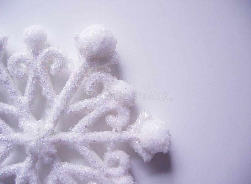 Fiocco di neve blu fotografia stock