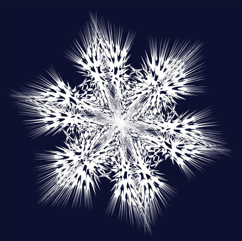 Fiocco di neve di vettore immagine stock libera da diritti