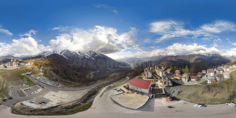 Fiolent crimea Panorama air de 360 degrés photo stock