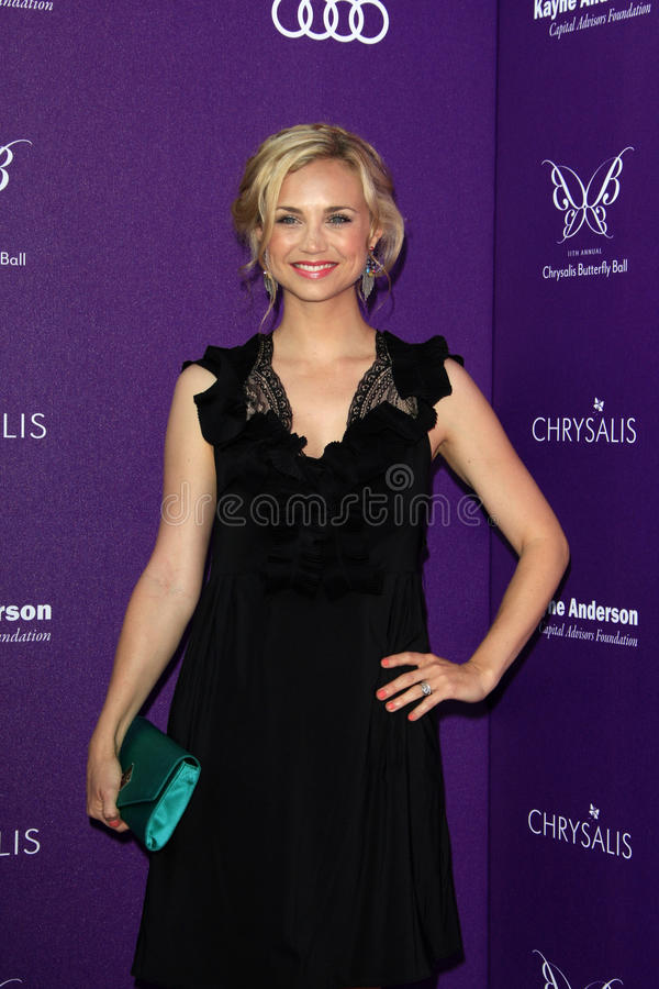 Download Fiona Gubelmann Arriving At 11th Annual Chrysalis Butterfly Ball Editorial Stock Image - Image: 25686009