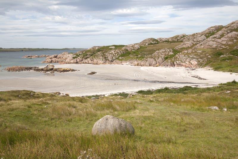 Fionnphort Isle av Mull fotografering för bildbyråer