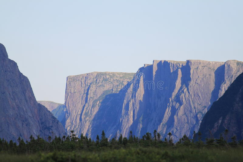 Fiord fotografie stock libere da diritti
