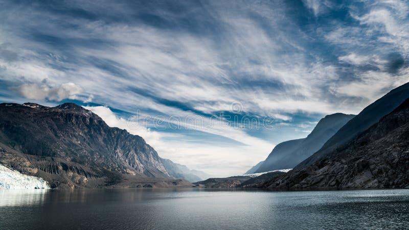 Fiord de la eternidad Groenlandia del oeste imágenes de archivo libres de regalías