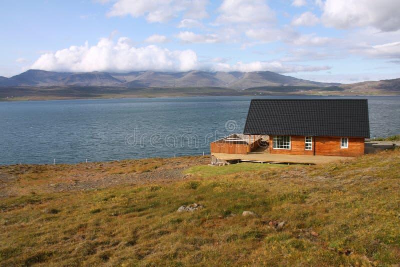 Fiord em Islândia foto de stock royalty free