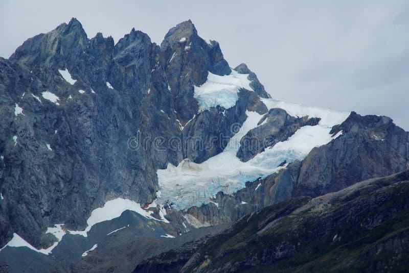 Fiordes do Chile fotografia de stock