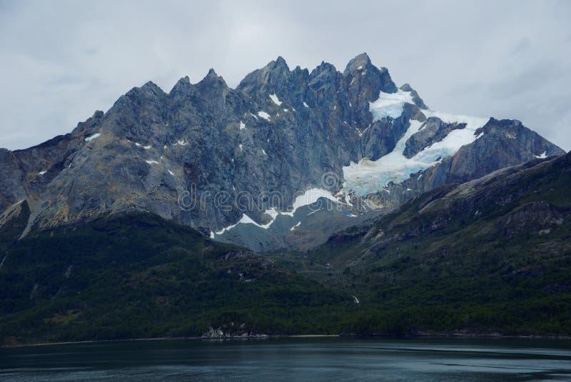 Fiordes do Chile foto de stock royalty free