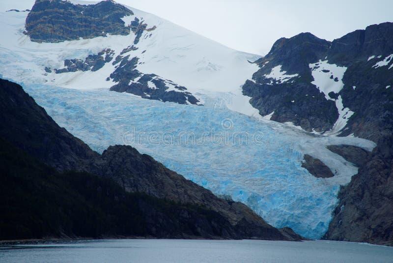 Fiordes do Chile imagens de stock