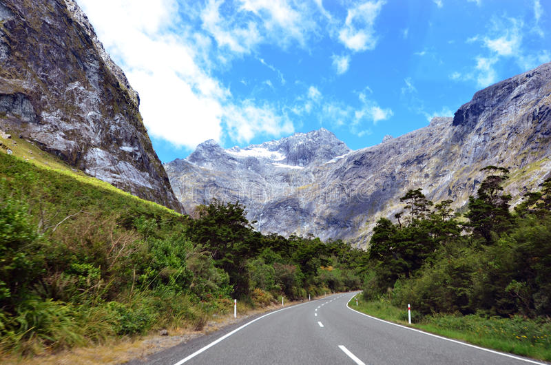 Fiordland - la Nuova Zelanda immagine stock