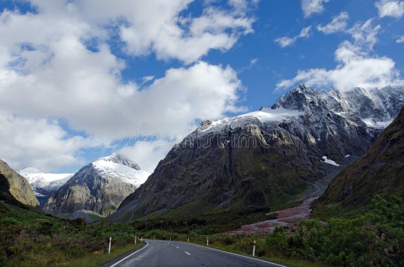 Fiordland - la Nuova Zelanda fotografia stock