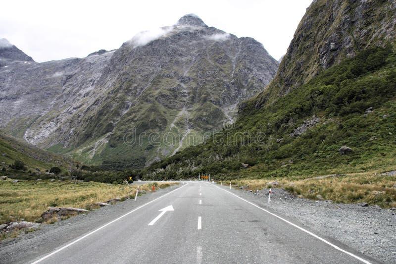 Fiordland, Nieuw Zeeland stock fotografie