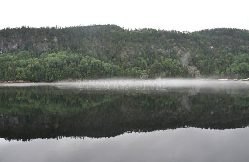 Fiordo de Saguenay, Quebec, Canad? foto de archivo libre de regalías
