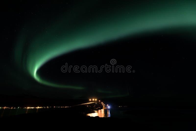 Fiordo di Lofoten, Norvegia fotografia stock