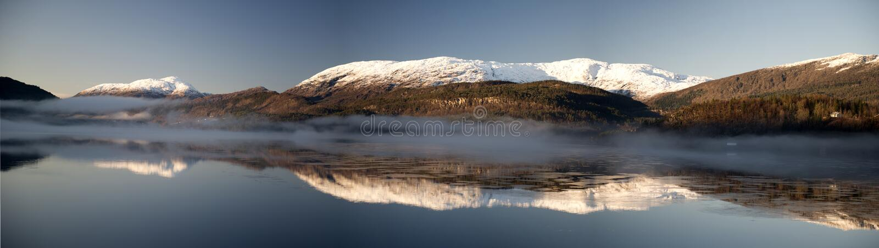 Fiordo di Norvegian immagini stock