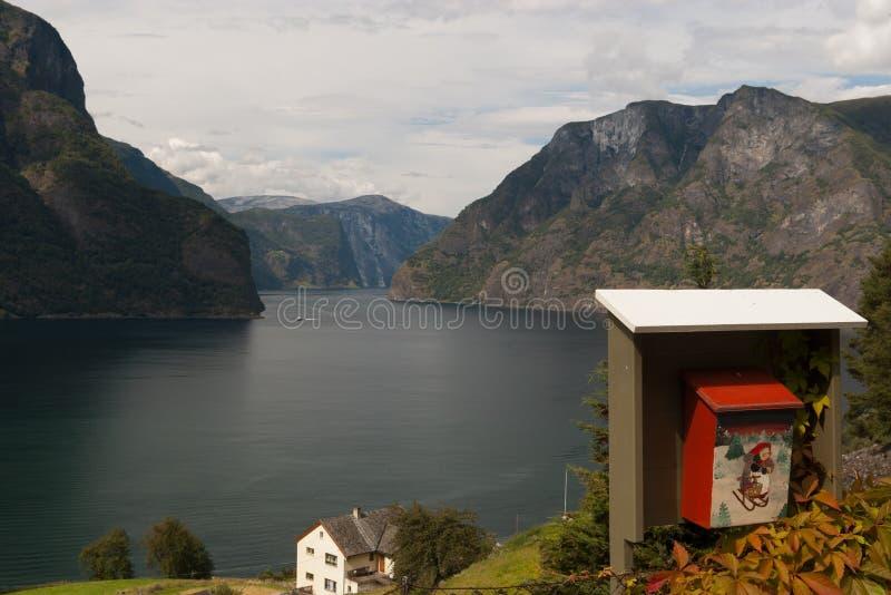 Fiordo norvegese fotografia stock libera da diritti