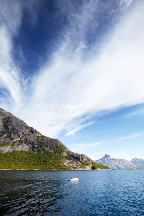 Fiordo Norvegia fotografia stock