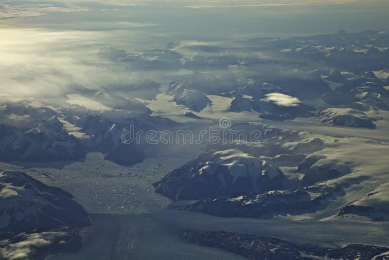 Fiordos de Groenlandia imágenes de archivo libres de regalías