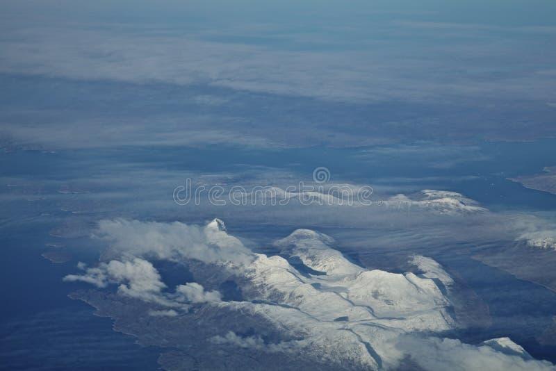 Fiordos de Groenlandia fotos de archivo